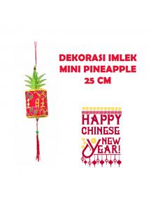 HO5696 - Hiasan Dekorasi Imlek Gantungan Pohon Pineapple (25 cm)
