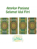 HO5703 - Premium Amplop/Angpao Panjang Idul Fitri isi 6 pc Hijau (Large)