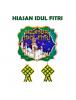 HO5711 - Dekorasi Hiasan Idul Fitri Tempelan Selamat Idul Fitri