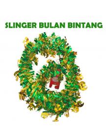 HO5714 - Dekorasi Hiasan Idul Fitri Slinger Bulan Bintang