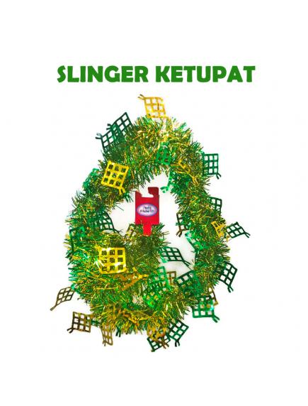 HO5715 - Dekorasi Hiasan Idul Fitri Slinger Ketupat