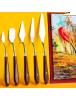 HO5719 - Artist Painting Knife / Palette Knife / Pisau Palet Set 5 pc