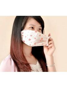 HO1726 - Masker Anti Debu & Virus Motif Bunga