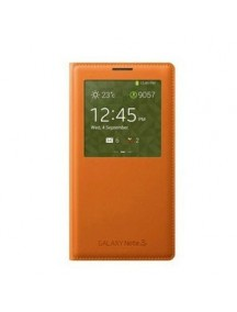 HO1865 - Sarung Case Samsung Note 3 (Orange)  #A1