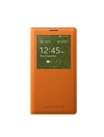HO1865 - Sarung Case Samsung Note 3 (Orange)  #A1