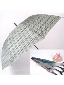 HO2032 - Payung Panjang Grid ( Random Color ) #C8