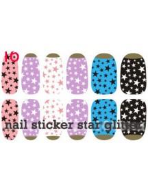 HO2042- Nail Sticker Star Gillter  #C9