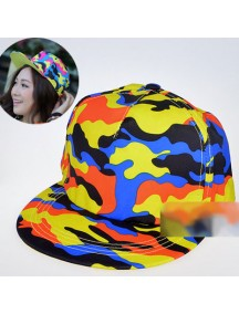 HO2065 - Topi Loreng ( Orange ) #A8