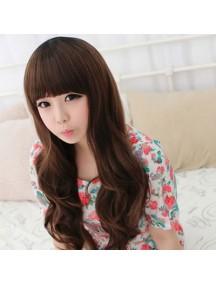 HO2150 - Hair Wig / Rambut Palsu Panjang (Dark Brown)