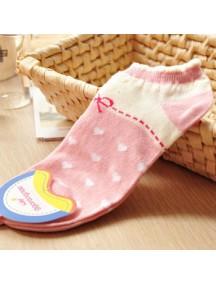 HO2252 - Kaos Kaki Love (Pink)