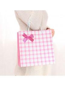 HO2307 - Kantong Hadiah / Gift Bag Grid ( 27 x 16 x 27 Cm ) #D1