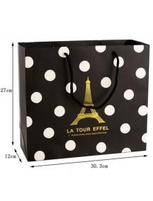 HO2310 - Kantong Hadiah / Gift Bag Paris ( 30.3 x 12 x 27 Cm ) #D1