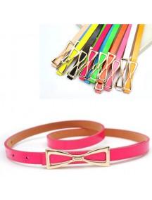 HO2341B - Tali Pinggang Simpel Fashion Pita Pink Tua  #D1