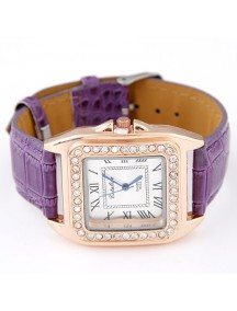 RJM1316 - AKsesoris Jam Tangan Leather Diamond