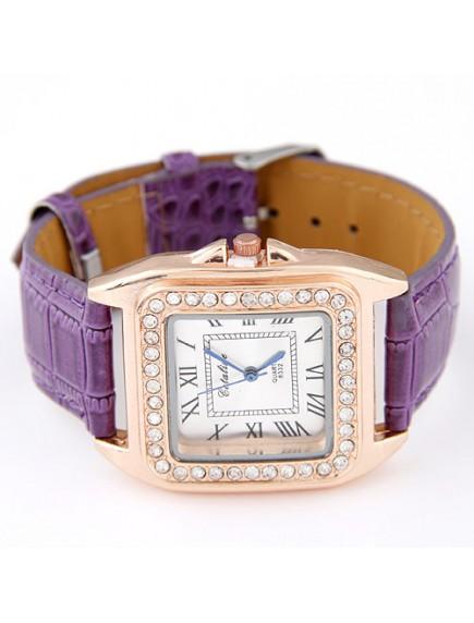 RJM1316 - AKsesoris Jam Tangan Leather Diamond