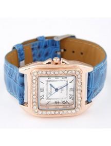 RJM1317 - AKsesoris Jam Tangan Leather Diamond