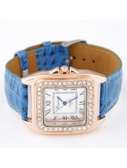 RJM1317 - AKsesoris Jam Tangan Leather Diamond
