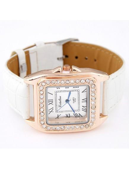 RJM1319 - AKsesoris Jam Tangan Leather Diamond