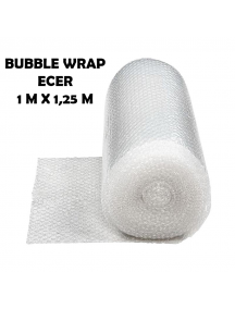 KF1001 - Bubble Wrap Packing Murah Bening Transparant Ecer 1m x 1,25m