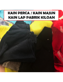 KF1007 - Kain Perca / Kain Majun / Kain Lap Mesin Kiloan Potongan Campur