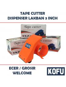 "KF1013 - Tape Cutter / Dispenser Lakban / Pemotong Lakban 3"" Kofu"