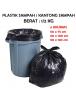 KF1017 - Plastik Sampah / Kantong Sampah Trash Bag Hitam (90x120 cm)