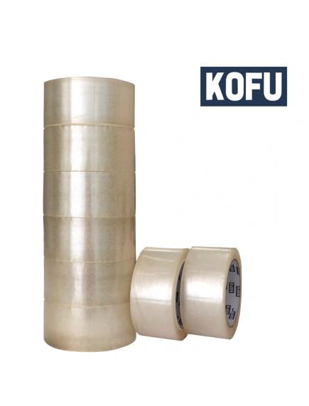 "KF1020W - Lakban Ekonomis 50 Yard / OPP Tape 2"" (48mm x 50yard)"