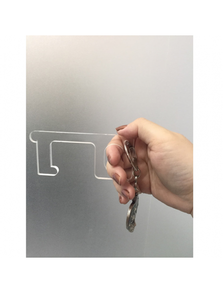 KF1025 - Hand Extension Door Opener / Alat Buka Pintu (Anti Virus Corona)