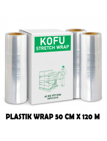 KF1028 - Plastik Wrapping / Stretch Film 50 cm x 120 M Bening
