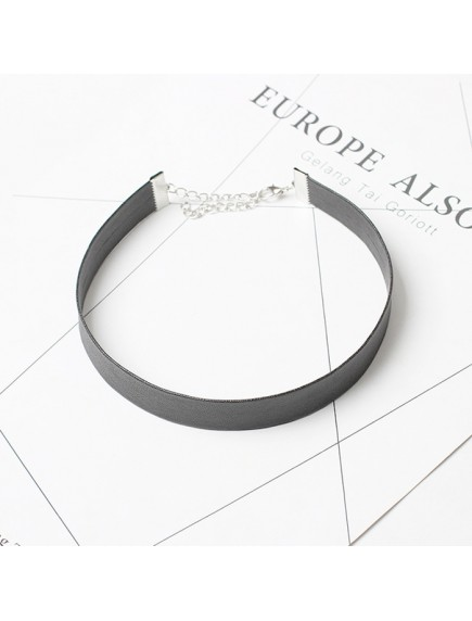 RKL1166W - Aksesoris Kalung Choker Leather