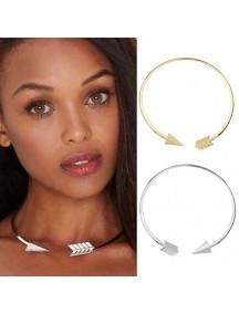 RKL1173W - Aksesoris Kalung Arrow Circlet Necklace