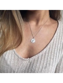 RKL1183W - Aksesoris Kalung Queen Elizabeth Coin Necklace
