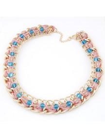 RKL5700 - Aksesoris Kalung Chain Crystal