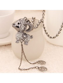 RKL6232 - Aksesoris Kalung Sheep Zodiac Diamond