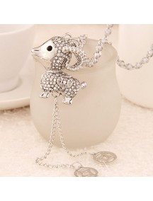 RKL6234 - Aksesoris Kalung Sheep Zodiac Diamond