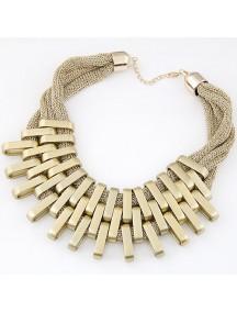 RKL6975 - Aksesoris Kalung Geometric Collar
