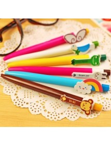 HO1027 - Pen Cartoon Korea Tinta Biru