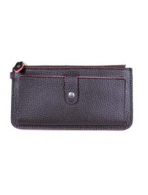 DOM1236 - Dompet Fashion ( Coklat )