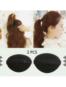 HO5024 - Aksesoris Rambut Hair Volume Sponge Puff (2 pcs)