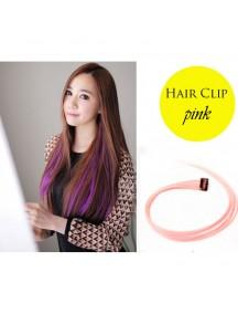 HO4057B - Hair Clips Potongan Lurus (Pink)