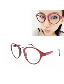 HO4419 - Kacamata Fashion Style ( Red Frame )