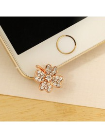 HO4462 - Plugin Bottom Handphone Flower Diamond