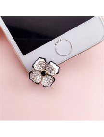 HO4463 - Plugin Bottom Handphone Flower Diamond