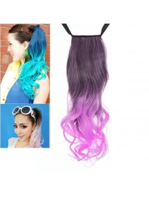 HO4547 - Pony Tail Wig Gradient Violet