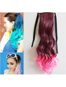 HO4551 - Pony Tail Wig Gradient Pink