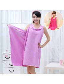 HO4640B - Handuk / Towel Microfiber Fashionable Serbaguna (UNGU)