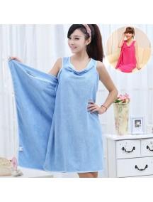 HO4640D - Handuk / Towel Microfiber Fashionable Serbaguna (BIRU)