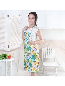 HO4670 - Celemek Manset Masak Fashion model Bunga