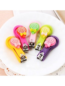 HO4825 - Gunting Kuku Animated Cartoon Random Color (Lollipop)