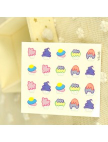 HO4848 - Water Nail Sticker YS-06